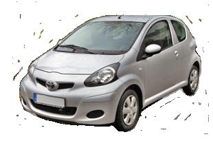 Toyota Aygo 1.0 - Fudeks rent a car